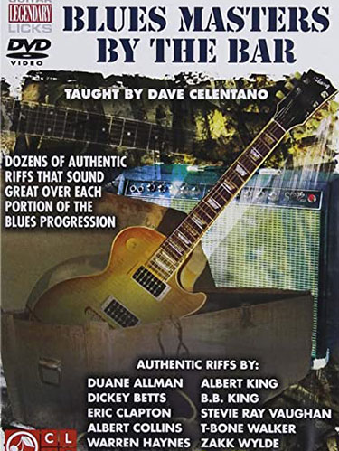 Blues Masters DVD Cover