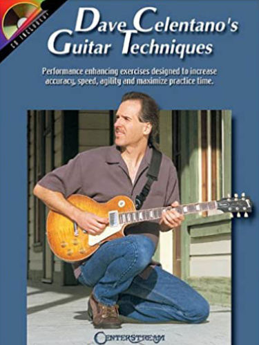 Dave Celentano Guitar Techniques Music Book Cover
