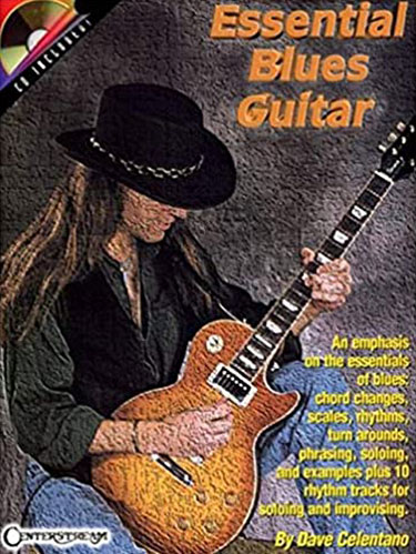 Essential Blues Guitar Music Book and CD