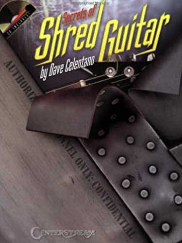 Secrets of Shred Guitar Music Book Cover