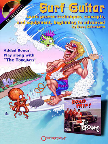 Surf Guitar Book Cover