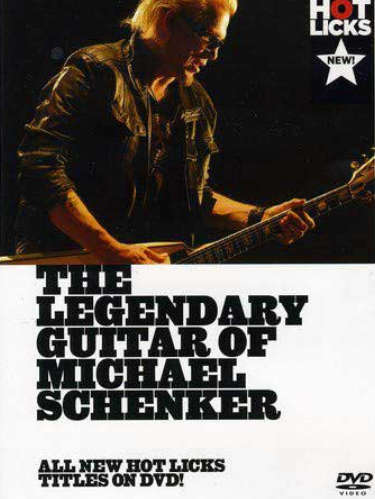 The Legendary Guitar of Michael Schenker DVD Cover