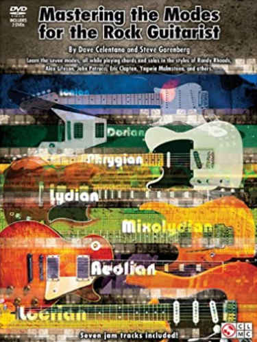Mastering the Modes for the Rock Guitarist Book Cover