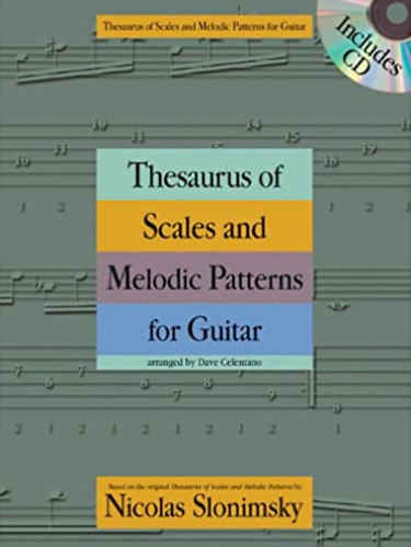 Thesaurus of Scales and Melodic Patterns for Guitar Book Cover